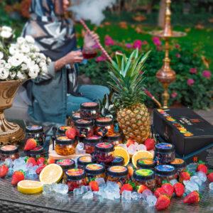 هوکا فروتز جایگزین مناسب برای تنباکوهای خشک و مضر | تکه های میوه تازه و طبیعی